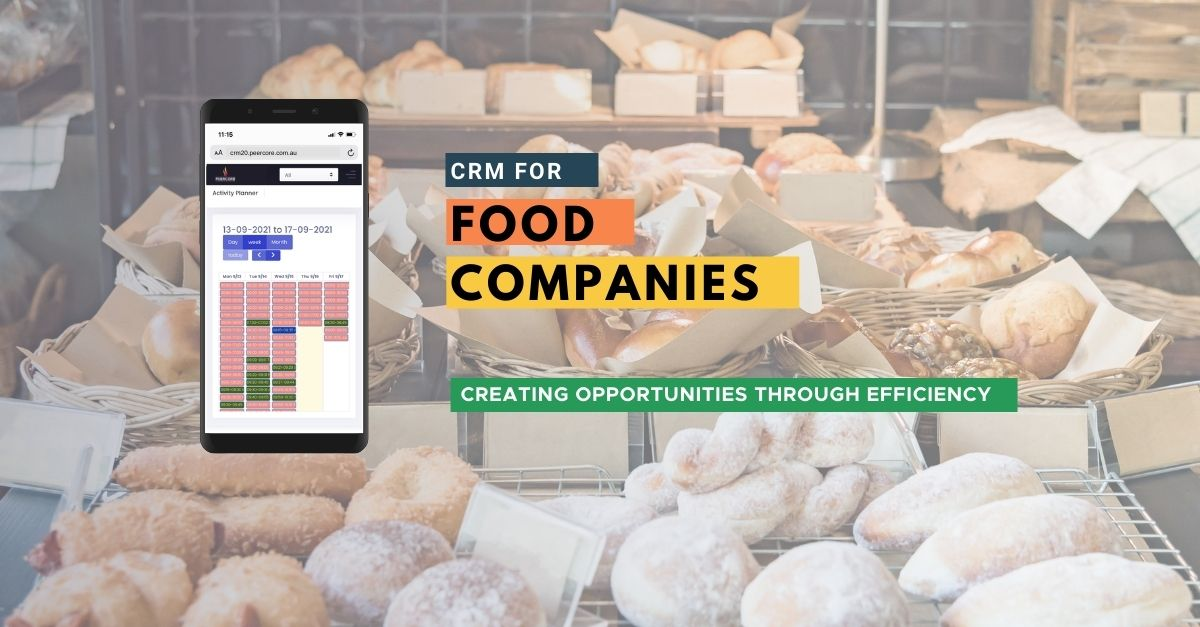 Peercore CRM for Food Companies